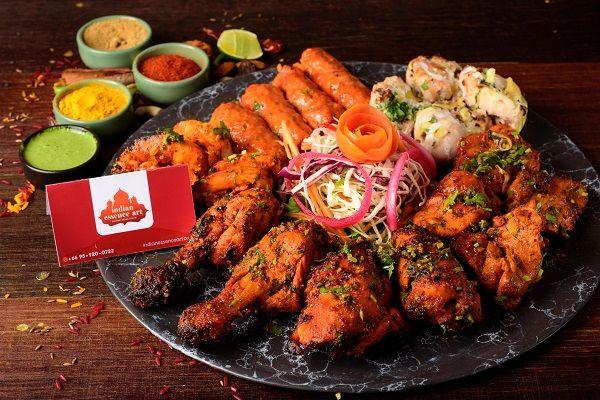 Kebab's Platter - Non Vegetarian Full