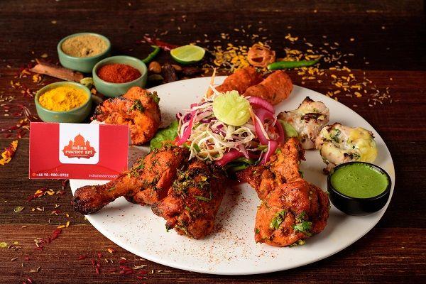 Kebab's Platter - Non Vegetarian Half