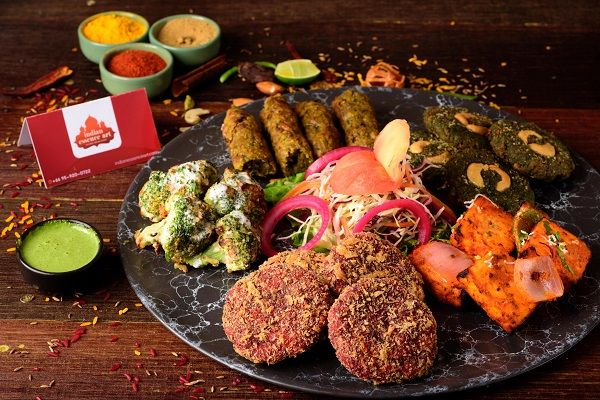 Kebab's Platter -Vegetarian  Full