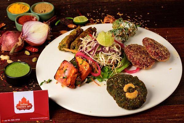 Kebab's Platter -Vegetarian  Half