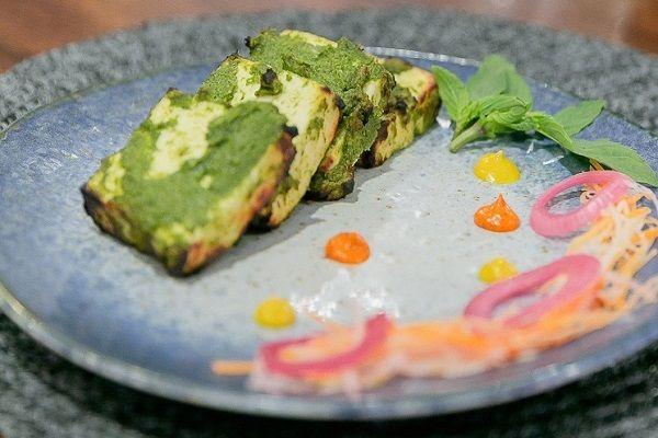 Thai Green Curry Paneer Tikka