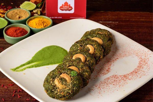 Vegetable Hara Bhara Kebab
