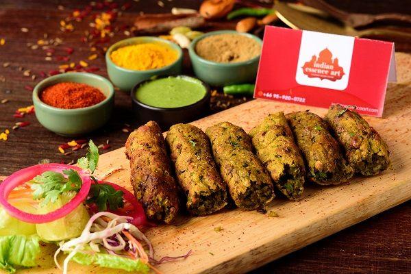 Vegetable Seekh Kebab